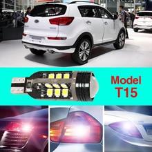 купить Ownsun Error Free T15 Socket 360 Degrees Projector Lens LED Backup Reverse light R5 Chips Replacement Bulb For Kia Sportage R по цене 1315.96 рублей