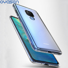 Phone Cases For Huawei Mate 20 Lite Pro Ultra-thin Airbag Design Transparent Protective Shell