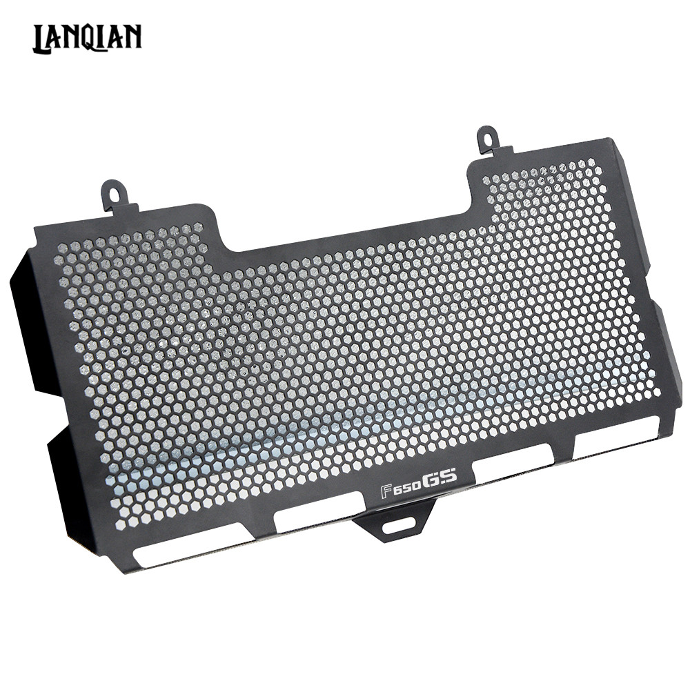 Motorcycle Radiator Guard Grille Cover Stainless Steel Cooler Protector For BMW F650GS 2008-2018 F650 GS F 650 GS Accessories motorcycle radiator protective cover grill guard grille protector for kawasaki z1000sx ninja 1000 2011 2012 2013 2014 2015 2016