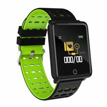Smart Watch Heart Rate Blood Pressure Monitor Pedometer Fitness Sport Bracelet Band F21 2019 New Arrive for Android iOS