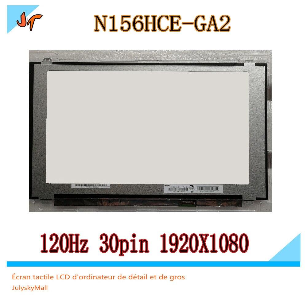 120 hz 15.6 notebook LED schermo LCD accurate aggiornamento N156HCE-GA2 IPS 1920x1080 FHD 72% NTSC eDP 30 PINS sostituzione del pannello N156HCE120 hz 15.6 notebook LED schermo LCD accurate aggiornamento N156HCE-GA2 IPS 1920x1080 FHD 72% NTSC eDP 30 PINS sostituzione del pannello N156HCE