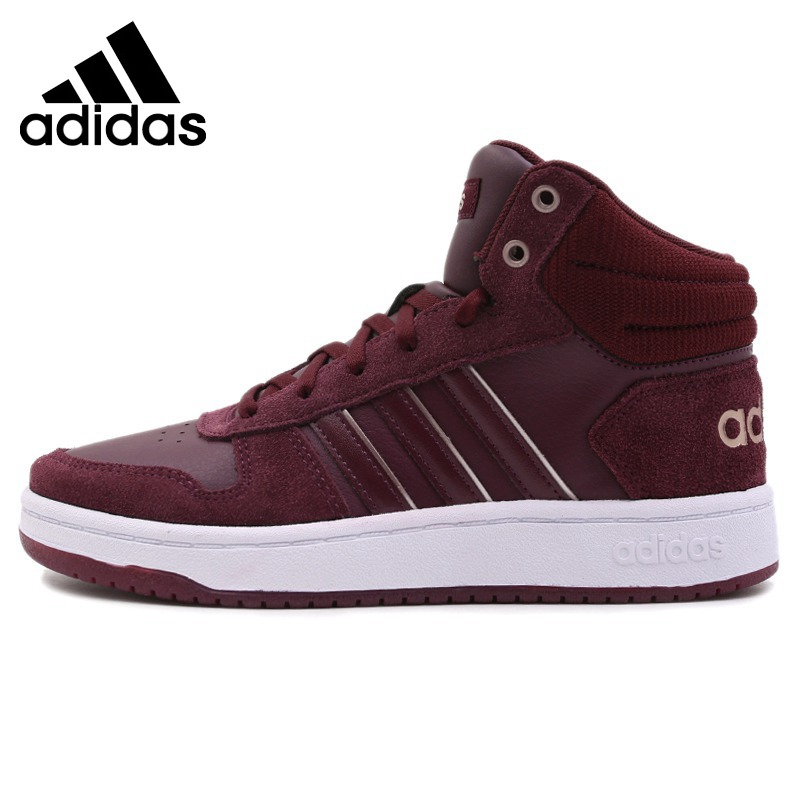 Original New Arrival 2018 Adidas NEO Label HOOPS 2.0 MID Women s  Skateboarding Shoes Sneakers 2078d9946