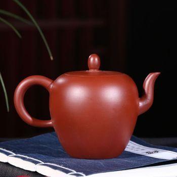 Yixing masters all hand tea purple clay ore zhu mud beauty shoulder pot of dahongpao recommended pot