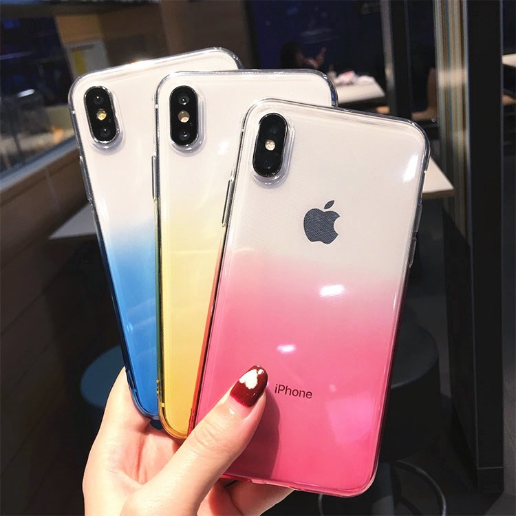 Esamday Corlorful Silicon Soft TPU Case For 11 Pro 7 8 6 6s Plus 7Plus 8Plus X XS MAX XR Phone Case For iPhone 5 5s SE 6sPlus 2