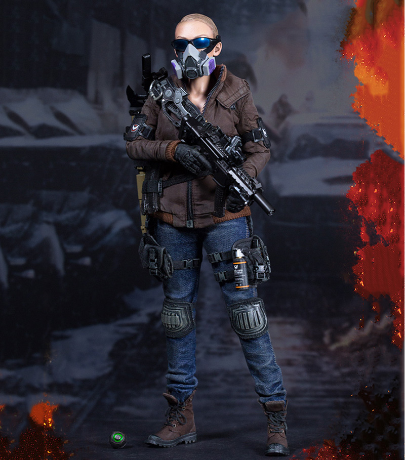1/6 The Darkzone Agent-Tracy Action Figure For Collections Gift 1 6 soldier action figure the dark zone agent renegad with weapon model accessories full set collections