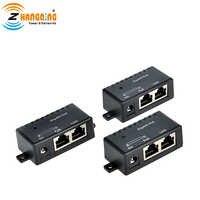 Sicherheit Power Over Ethernet Gigabit PoE Injektor Single Port 3 stücke viel Midspan Für Überwachung Kamera