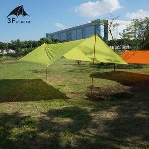 Image 3 - 3f ul engrenagem ultraleve à prova d15água 15d silicone revestido lona de náilon sun shelter para rede barraca acampamento toldo dossel