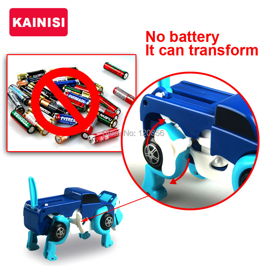 free-shipping-4-colors-14CM-cool-Automatic-transform-Dog-Car-Vehicle-Clockwork-Wind-up-toy-for-children-kids-boy-girl-toy-Gift-4