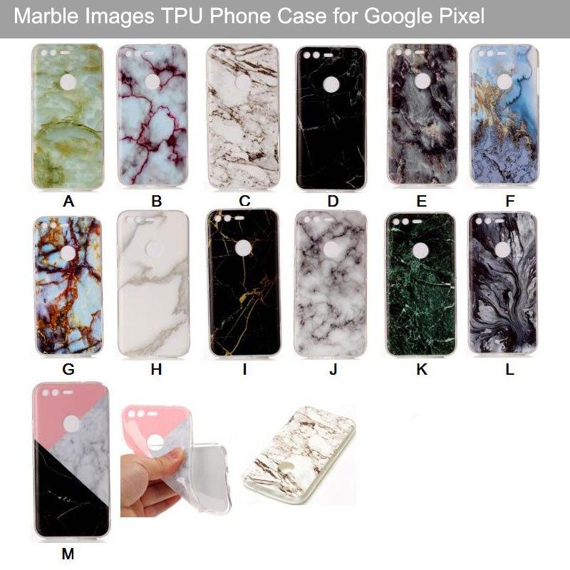 Coque For Google Pixel Case Glossy Marble Design IMD Soft TPU Cover For Google Pixel XL Phone Cases Capinhas De Celular Pixel XL