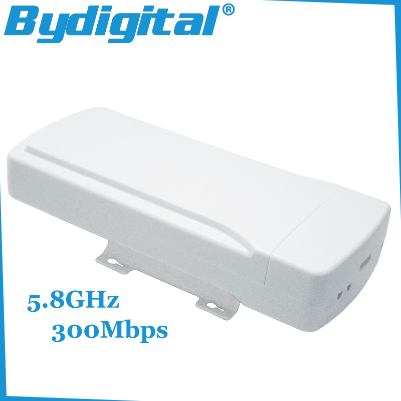 5.8GHz outdoor CPE bridge 300Mbps high speed wifi repeater 64M RAM high gain router 16Dbi Wireless AP 802.11a / n