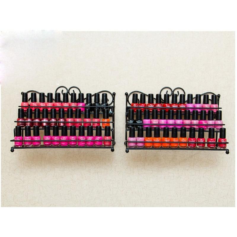 Esmalte de uñas Rack de escritorio Soporte de almacenamiento de 3 - Arte de uñas - foto 2