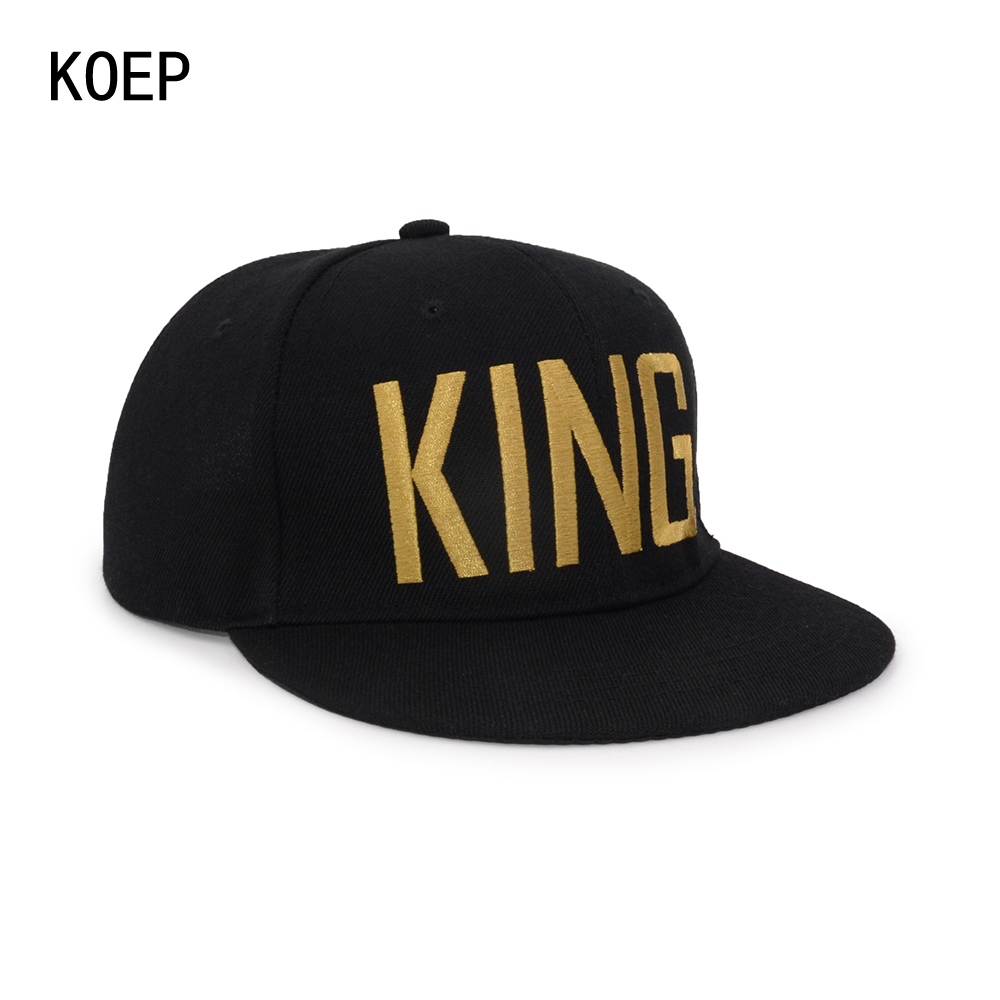 black snapback hat KOEP®-HHC-17-GK-3