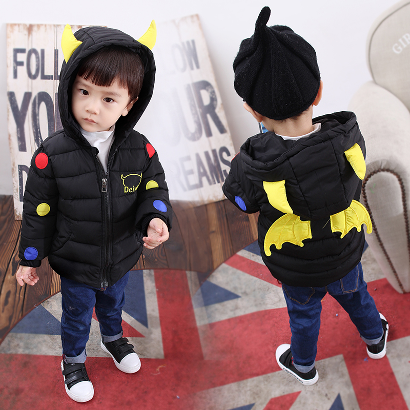 Fashion Children Clothing Long Sleeve Kids Boys Hooded Winter Jacket Outerwear Baby Boy Keep Warm Clothes Cool Coat Fit 1-5 Age boys winter jacket cotton padded fur collar hooded long kids outerwear coat thicken warm boy winter coat children clothing
