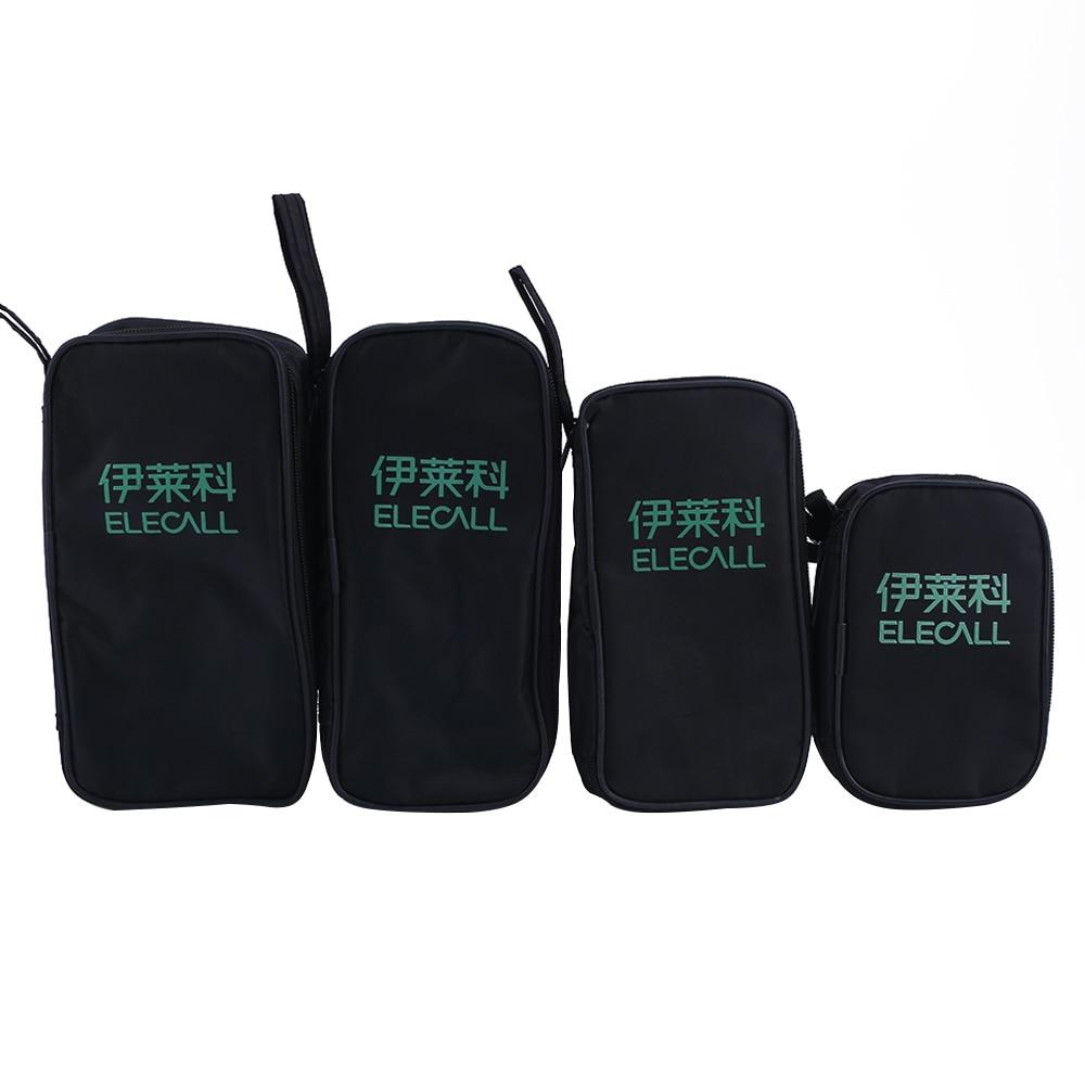 ELECALL Tool Bag For Digital Multimeter Tool Kit   Black Multi-purpose Tool Bag Nylon Pouch