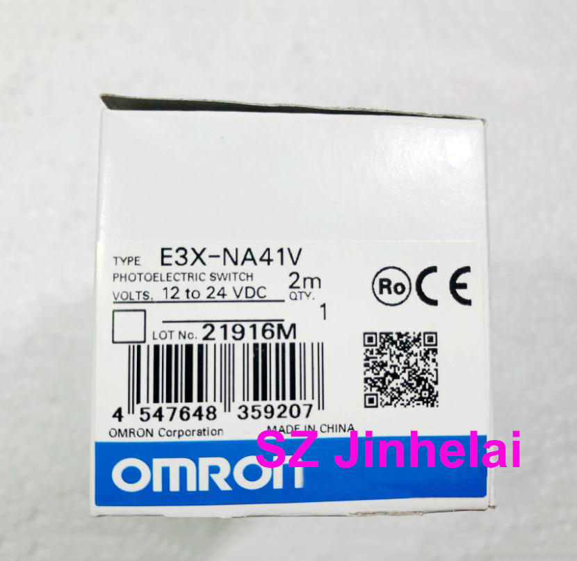 100% Authentic original E3X-NA41V OMRON Photoelectric switch 12-24VDC 2M e3x da41 n original