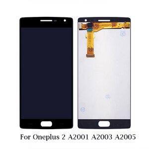 Image 4 - ل Oneplus 1 + A0001 A2001 A3000 A3010 A5000 A5010 شاشة الكريستال السائل + شاشة تعمل باللمس الجمعية ل OnePlus 1 2 3 3T 5 5T 6 6T 7 LCD شاشة