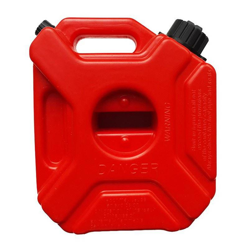 1 шт. Запасные 5 литров антистатические Пластик Бензин может высокое качество и большой Ёмкость Аренда Oil Drum красного цвета с держателем