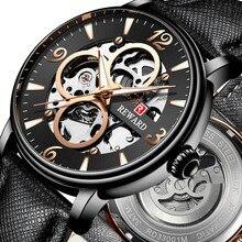 Men's Dress Automatic Mechanical Watch Waterproof Window Skeleton Sports Watch for Men Luxury Brand Reloj Hombre Business Clock все цены