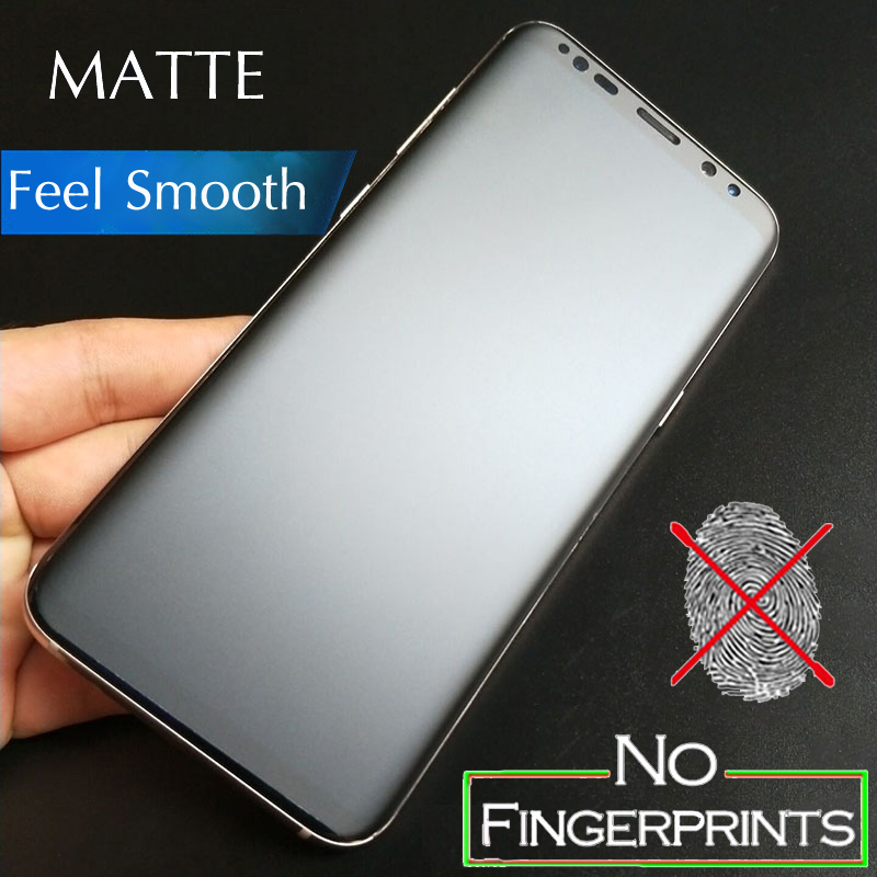 3D Full Cover Matte Frosted Screen Protector For Samsung Galaxy S7 Edge S8 S9 S10 Plus S10e Note 8 9 10 Plus Soft Film Not Glass