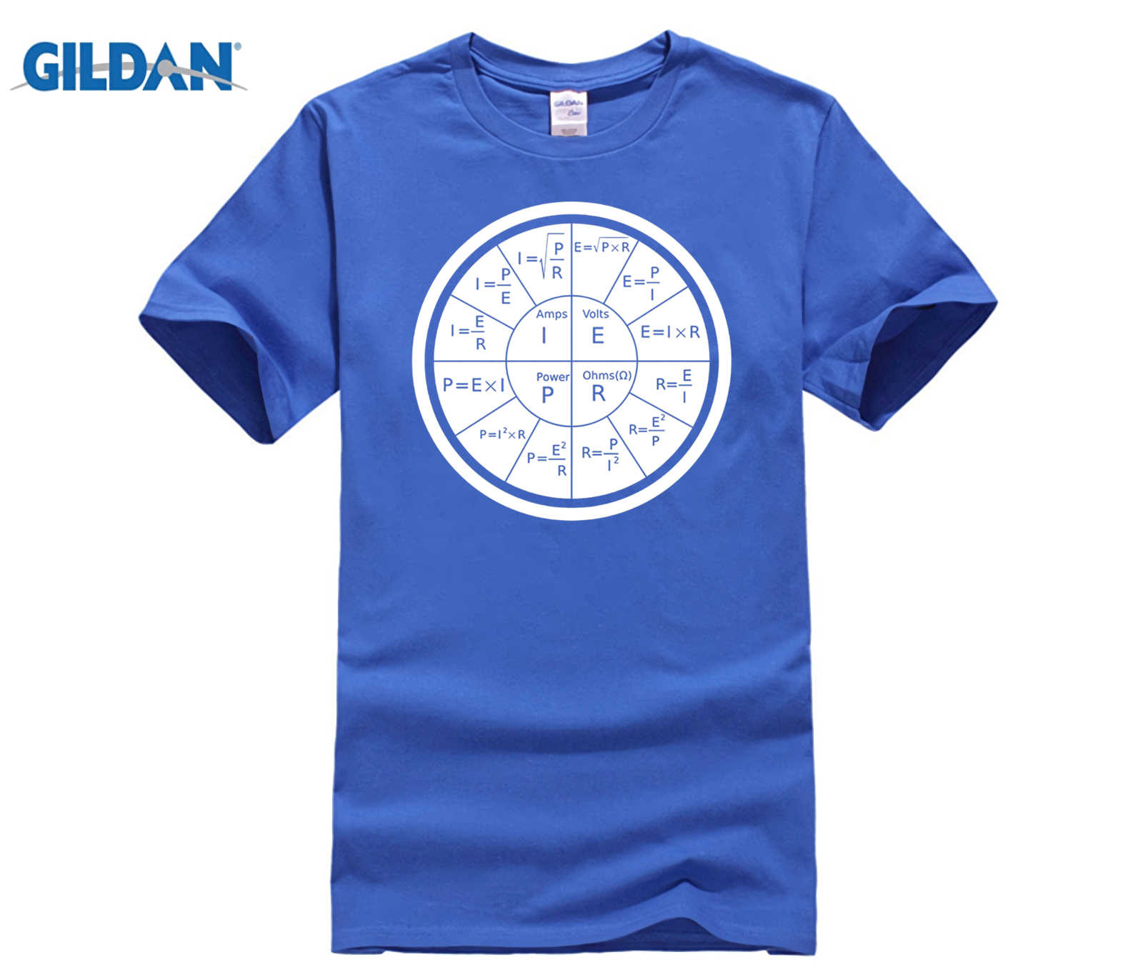 256a3072 GILDAN Ohm's Law Electrical Engineering T Shirt Mother's Day Ms. ...