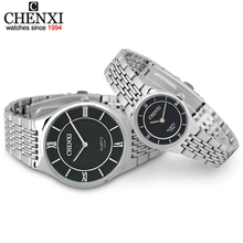 New Men Luxurious Japan Quartz Watch Men's Women's Fashion Stainless Steel Analo