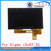 New 7 Inch TABLET Digma IDsD7 3G LCD Display Matrix 40pin 1024x600 164x100mm LCD Display Screen