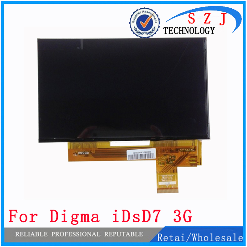 New 7 inch TABLET case Digma iDsD7 3G LCD Display Matrix 40pin 1024x600 164x100mm LCD Display Screen Panel Free shipping new lcd display 7 inch for digma hit 3g ht7070mg tablet tft 40pin screen matrix digital replacement panel free shipping