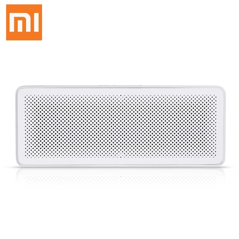 Original Xiaomi XMYX03YM Bluetooth 4.2 Speaker Hands-Free Mini Portable Wireless MP4 MP3 AUX Built-In Microphone Music Speaker philips sb500 original aux loudspeaker bluetooth v4 1 built in microphone wireless ipx7 waterproof li battery music speaker