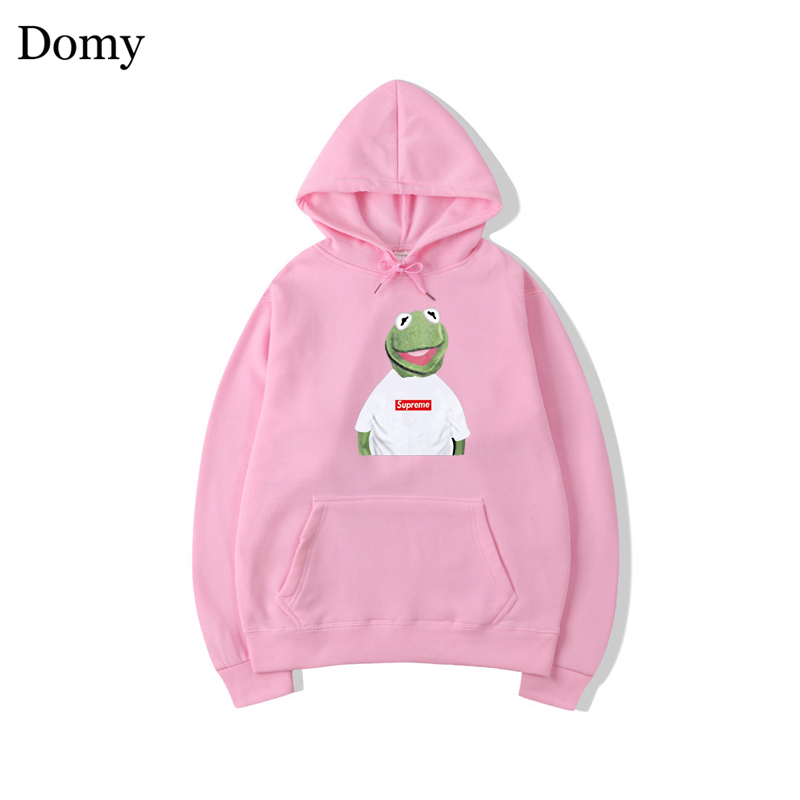 Fashion Cotton Suprem Hoodies Sweatshirts Men Women Casual Solid Spoof Long Sleeve Hoody Parody Tops