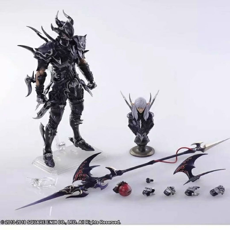 PLAY ARTS Kai Game Final Fantasy XIV 14 Estinien Action Figure Collectable Model Toy Birthday Gift for ChildrenPLAY ARTS Kai Game Final Fantasy XIV 14 Estinien Action Figure Collectable Model Toy Birthday Gift for Children