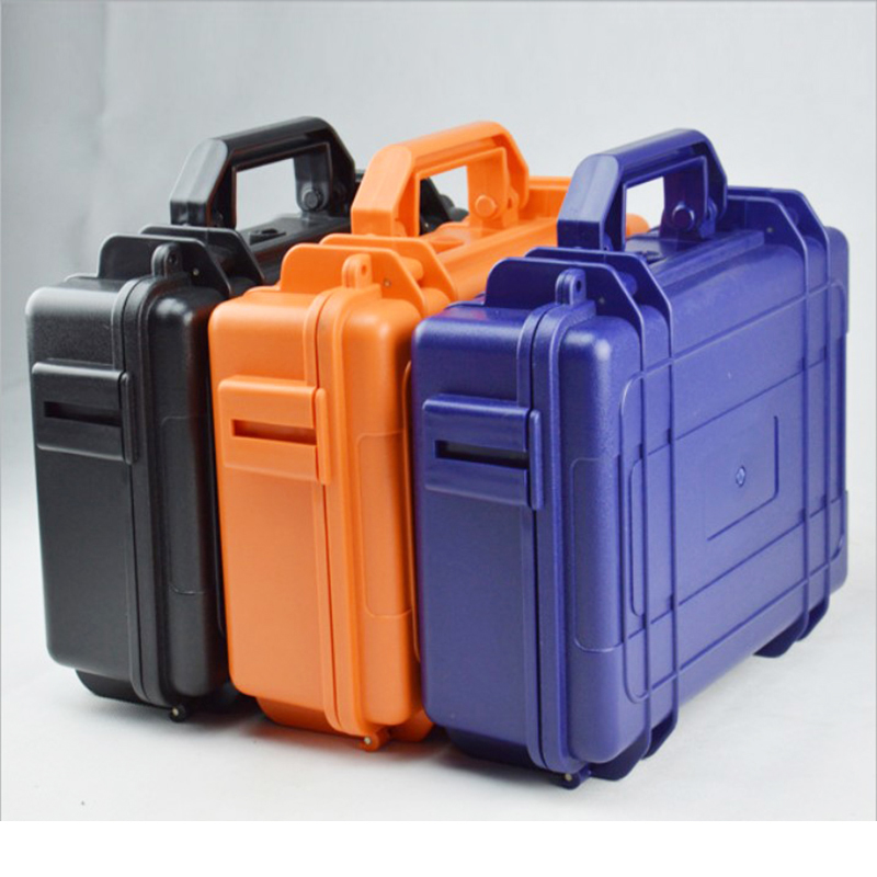 High Quality Tool Case ABS Toolbox Impact Resistant Sealed Waterproof Case Security Equipment Case Camera Box  With Pre-cut Foam
