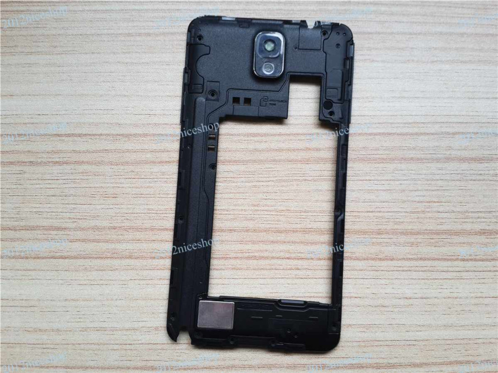 Note3 Rear Frame Black