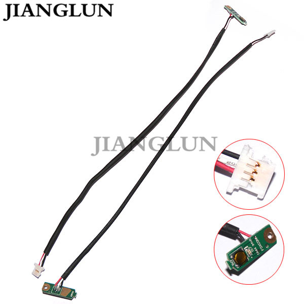 JIANGLUN 5X New Power Button With Cable Harness For Dell