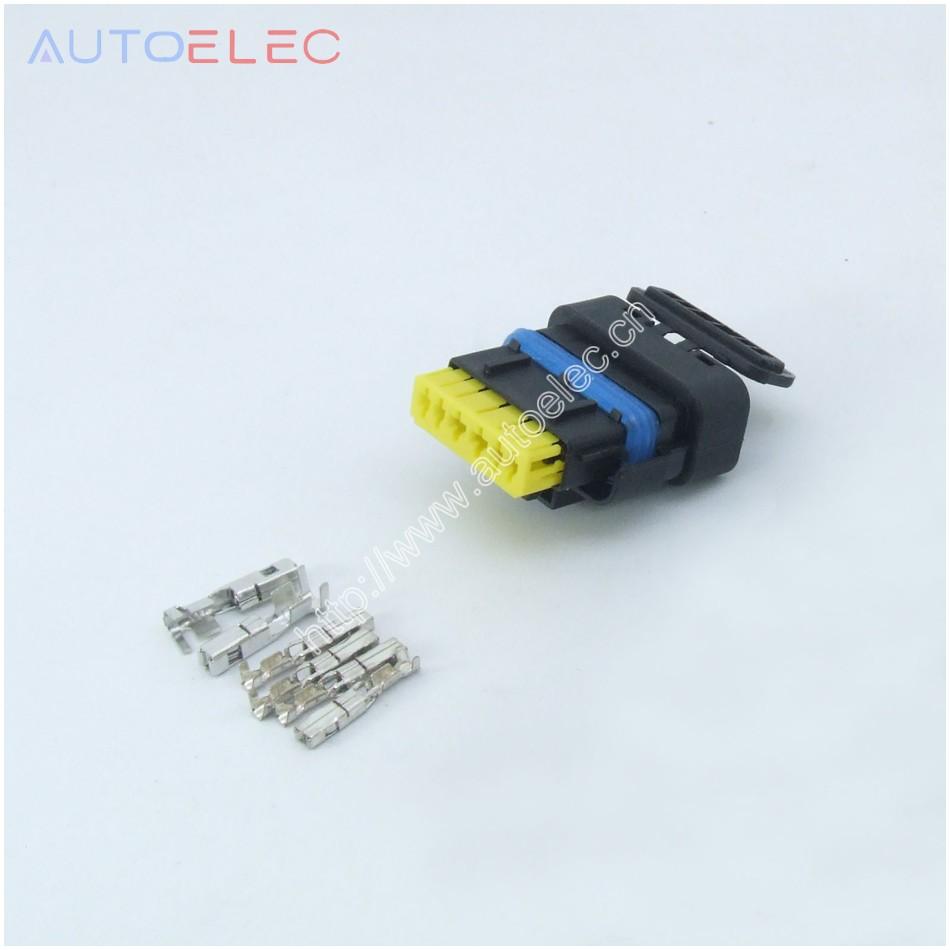6Pin Way Automotive Waterproof Electrical Connector 211PC069S0149 Cable Connector Connectors Mini-Sealed Female Sicma 2.8mm1.5mm