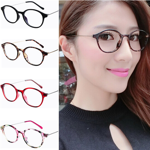 retro cintage thin metal temple round eyeglasses frame stylish basic fashion women glasses frames spectacles