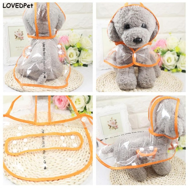 Dog Umbrella Cloak Waterproof Clothes