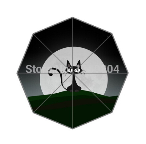 Fashion Design Umbrella Custom Funny Anime Cat  For Man And Women - Household Merchandises