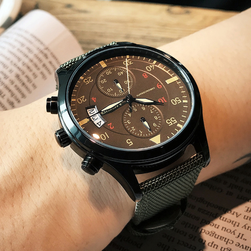 MEGIR Men Sports Wristwatches Waterproof Fashion Military Luxury Top Brand Analog Quartz Watches Clock Male Relogio Masculino