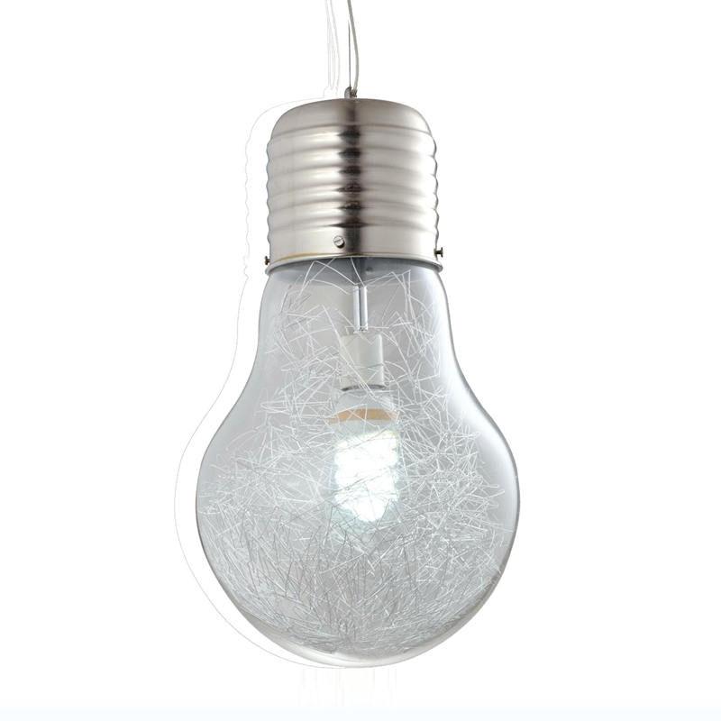 White modern pendant light fixtures bulb Spider Modern Pendant Light Led Big Bulb Pendant Lamp Glass Lampshade Hanging Lamp Light Fixture Luminaria Vintage Lightingin Pendant Lights From Lights Aliexpress Modern Pendant Light Led Big Bulb Pendant Lamp Glass Lampshade