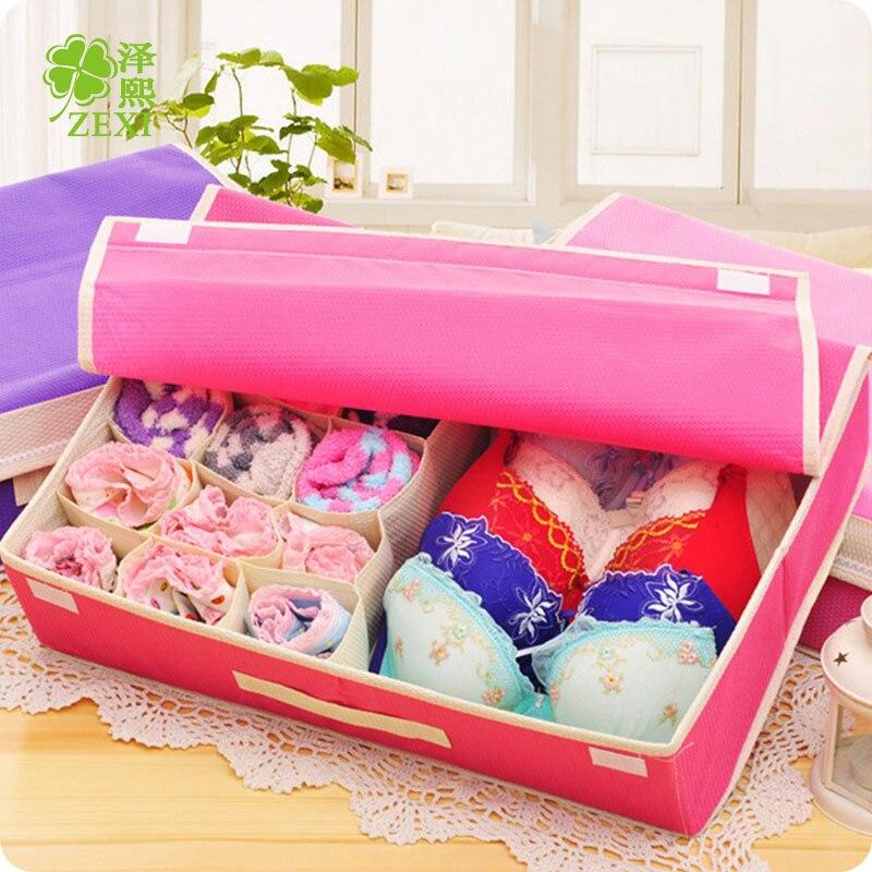 Модное нижнее белье коробка для хранения шкафы организовать для хранения ювелирных изделий бытового мусора отделка Классификация Организ...