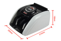 New Banknote Multi Currency Bill Money Counter Cash Counting Machine EU US AUD ETC 1PCS SHIP