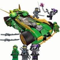 Ninja 2018 de Lloyd Nightcrawler Racing Voitures Blocs de Construction Enfants Assembler des Jouets Compatible LegoINGly NinjagoING 2018
