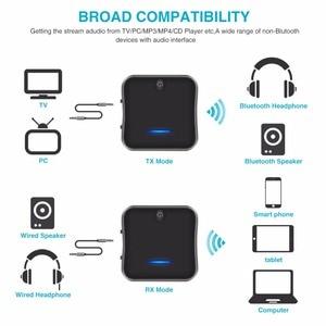 Image 3 - Bluetooth 5.0 משדר מקלט aptX HD השהיה נמוכה אודיו 3.5mm Aux/RCA/SPDIF Bt מוסיקה אלחוטי מתאם עבור טלוויזיה/אוזניות/רכב