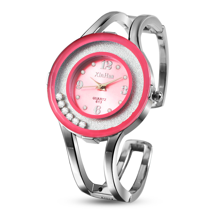 Fashion Shiny Diamond Women's Watches Women Watches Stainless Steel Bracelet Watch Clock saat bayan kol saati reloj mujer