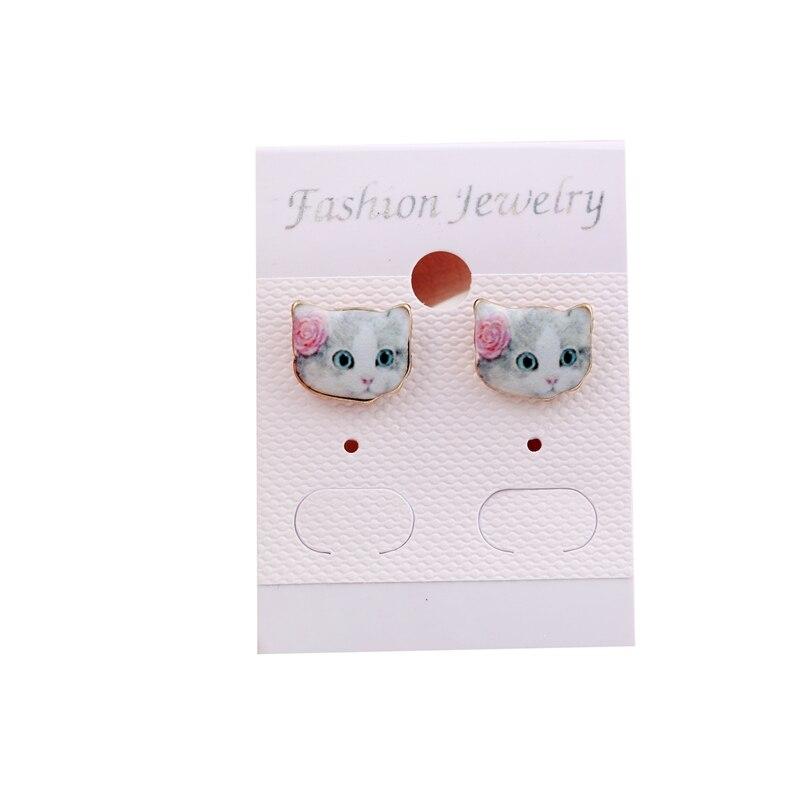 yiustar 2017 Ear Tops Designs Stud Earrings Small Cat Earrings for ...