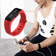 Smartwatch Bluetooth Fitness Inteligente Reloj Mujeres de Los Hombres Vestido de Moda Del Reloj Del Deporte Al Aire Libre Reloj Digital de Pulsera para IOS Android