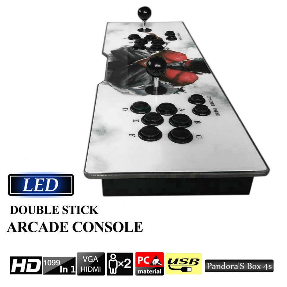 Профессиональное Multi игра 1099 видео игры в 1 Семья Box Главная Аркады консоли Винтаж геймпад с двойной джойстик