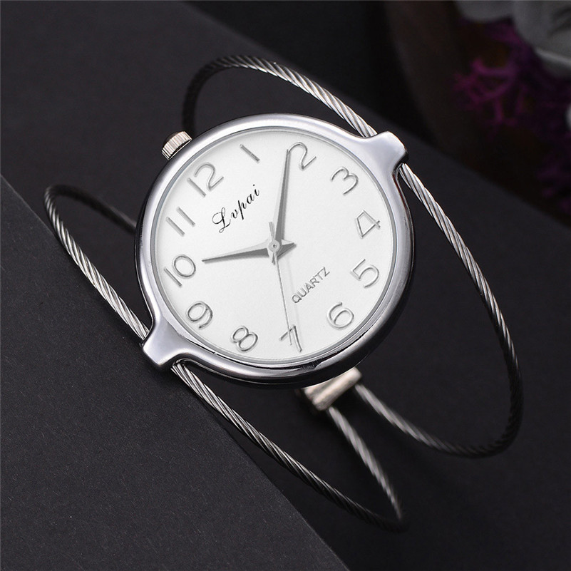 Top Brand Silver Luxury Women Dress Watch  Ceramic Crystal Quartz Watches Magic Women Wrist Watch Female Relogi Mujer 2018 Hot