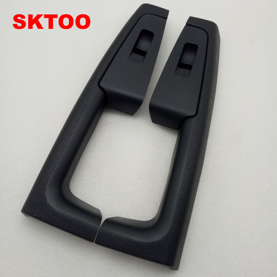 SKTOO for Skoda Superb door armrest switch box rear Inner door handle black