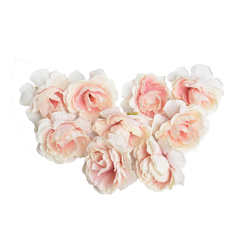 10pcs/lot Silk Roses Artificial Flowers For Wedding And Home Decorations 2